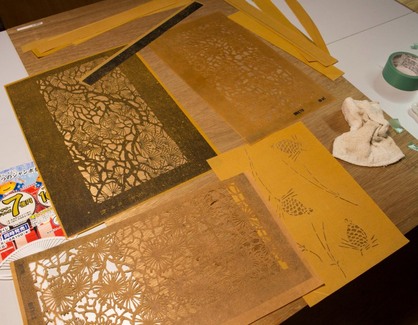 dyeing templates