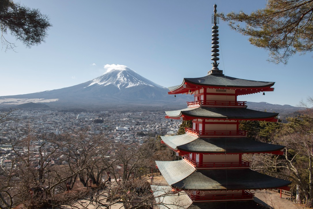 Chureito pagoda