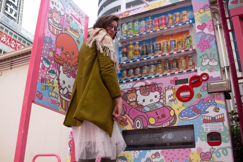 Hello Kitty Vending Machine