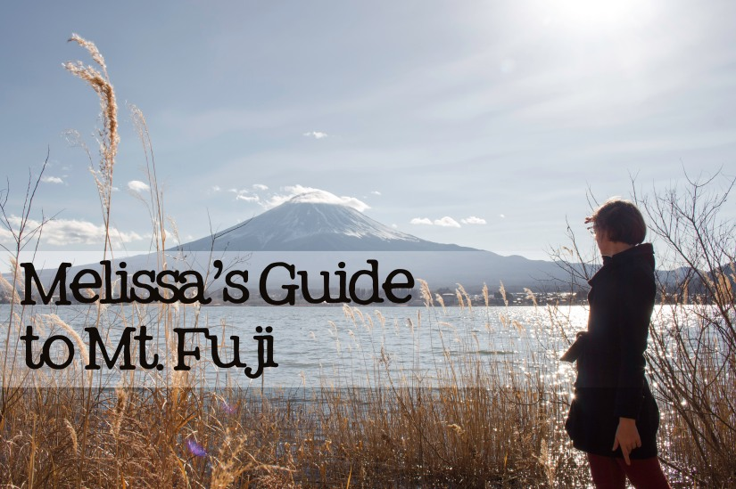 Melissa's Guide to Mt. Fuji